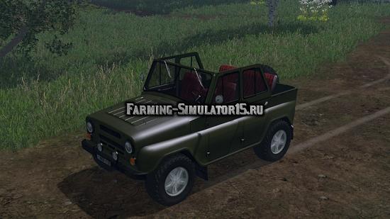 Мод авто УАЗ-469 Фарминг Симулятор 2015