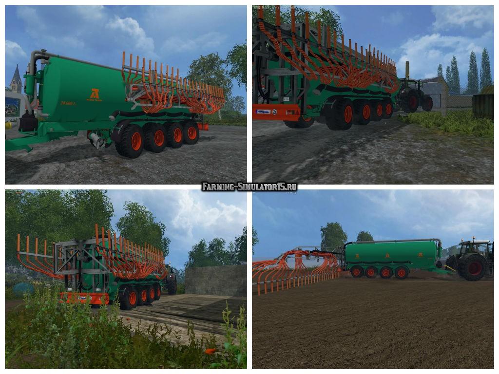 Мод прицеп Aguas Tenias CTETO30L v 1.0 Farming Simulator 15