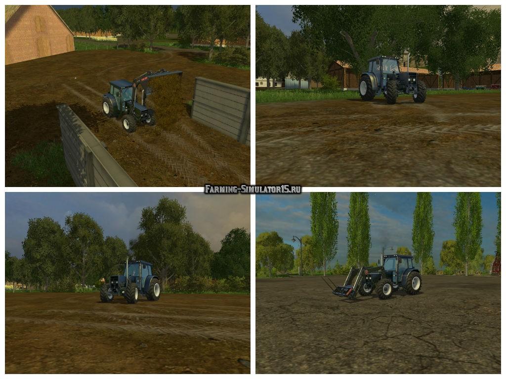 Мод трактор Buehrer 6135 A FL v 1.0 Farming Simulator 2015