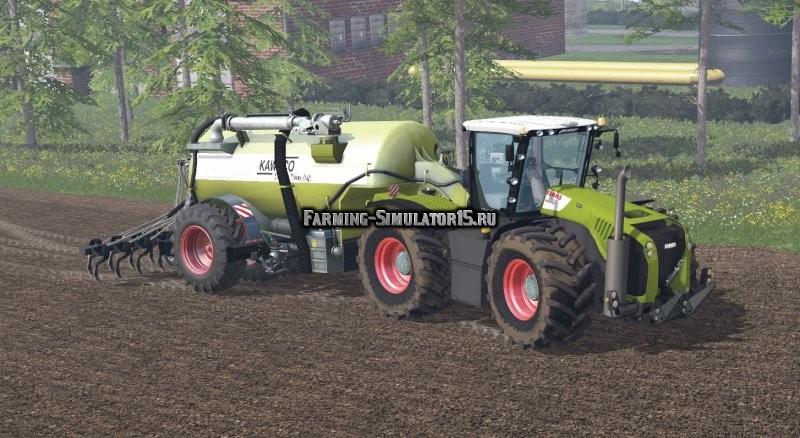 Мод трактор Claas Xerion 5000 v 1.1 Farming Simulator 15