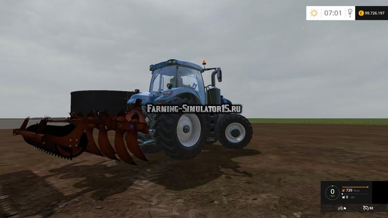 Мод Curler straight angled subsoiler v 1.0 Farming Simulator 15