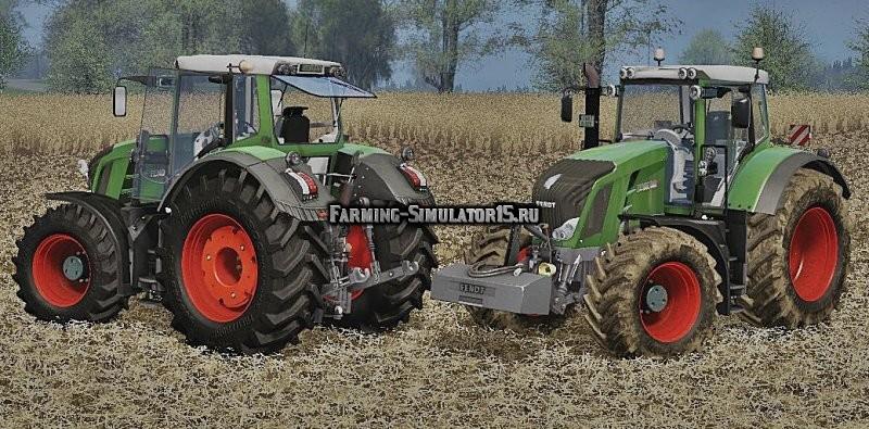 Мод трактор Fendt 828 Vario SCR v 1.0 Farming Simulator 2015