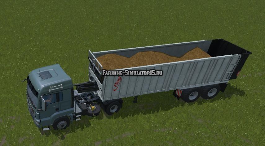 Мод прицеп Fliegl Ass 2101 v 1.0 Farming Simulator 15