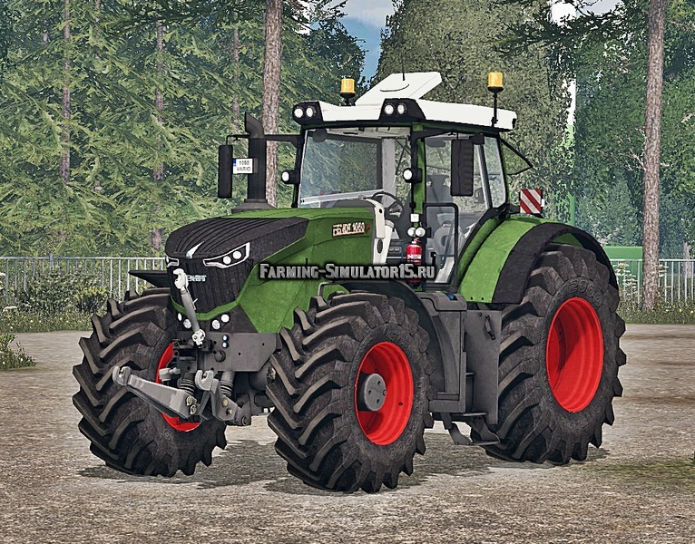 Мод трактор Fendt Vario 1050 Washable v 1.1 Farming Simulator 2015
