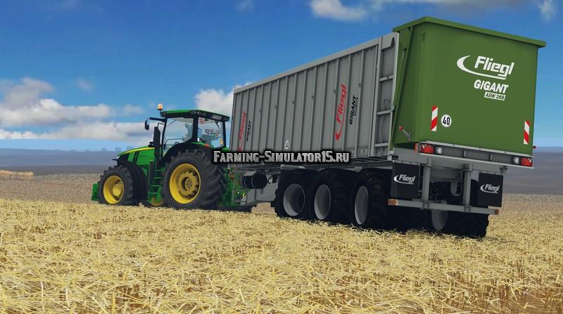 Мод прицеп Fliegl ASW 288 v 1.0 Farming Simulator 15