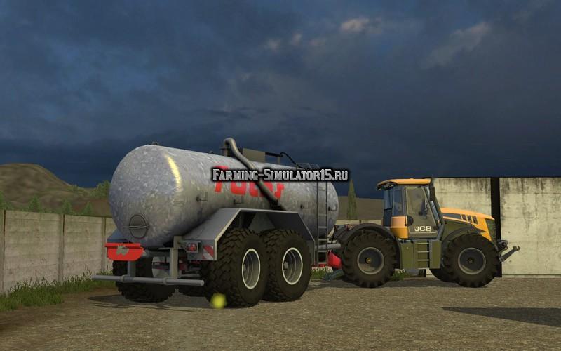 Мод бочка Fuchs 18500l v 1.0 Farming Simulator 15