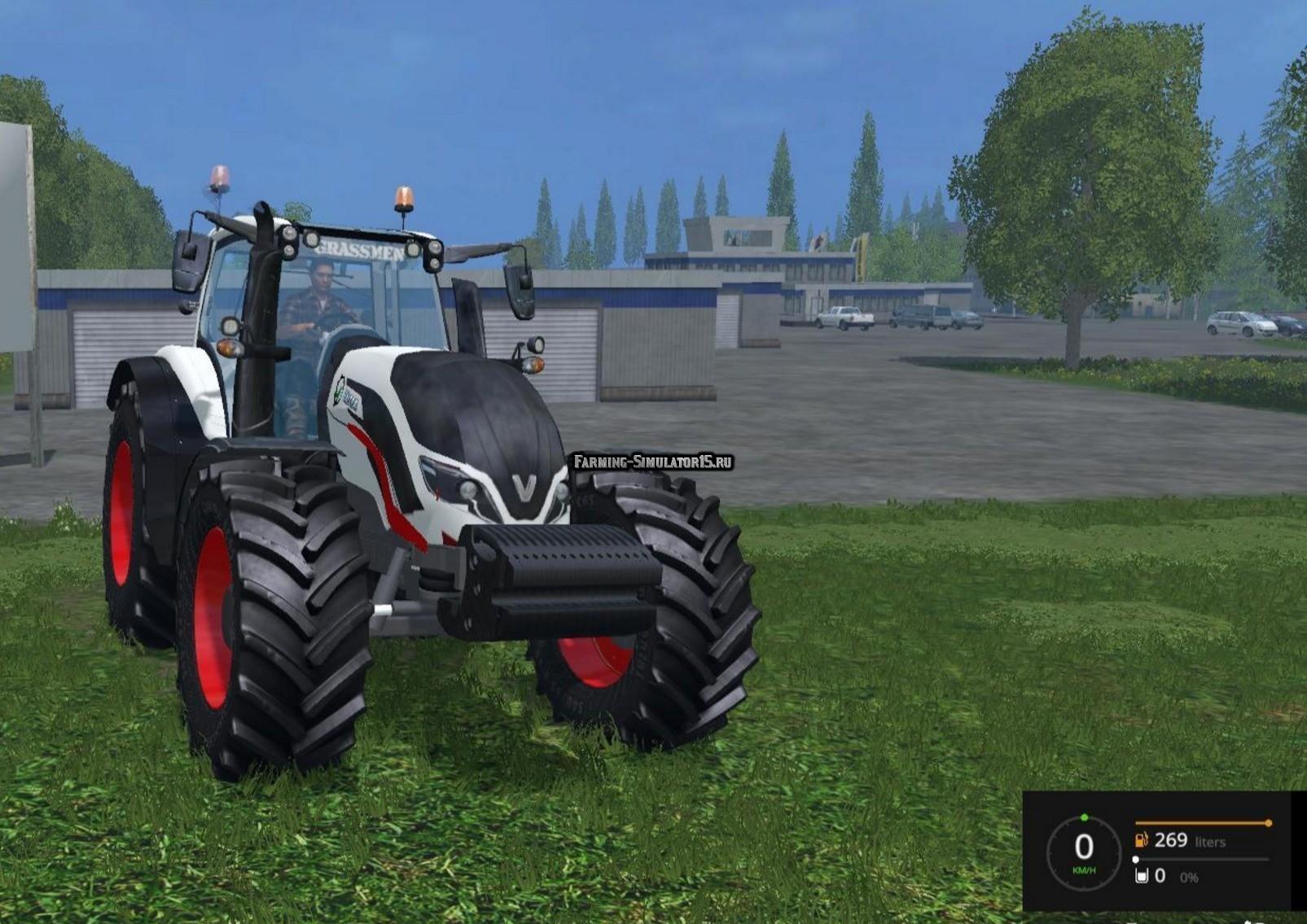 Мод трактор Valtra T4 v 1.1 Farming Simulator 15