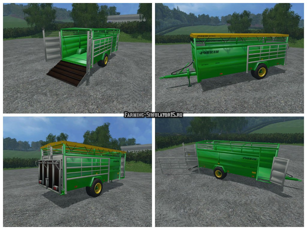 Мод прицеп Joskin Betimax R 6000 v 1.0 Farming Simulator 2015