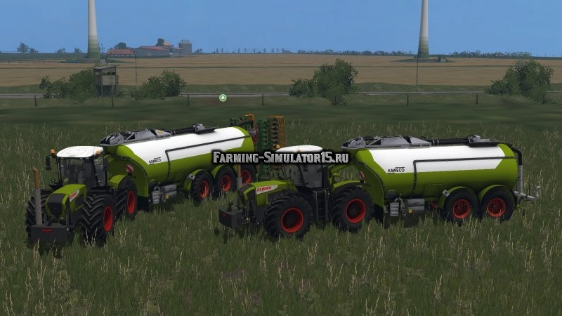 Мод прицепы Kaweco Guelle Pack v 1.0 Farming Simulator 2015