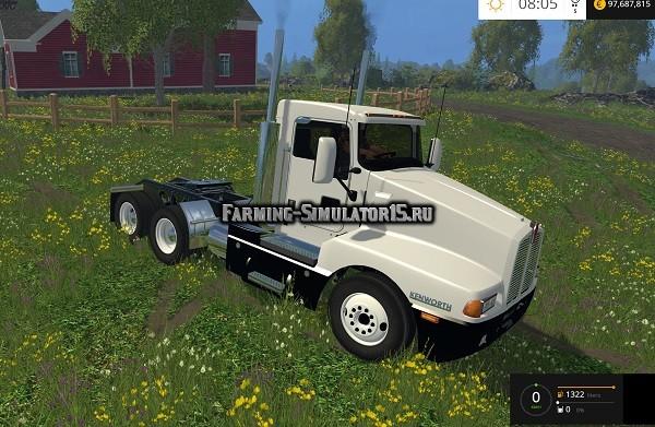 Мод грузовик Kenworth T600 v 1.0 Farming Simulator 2015