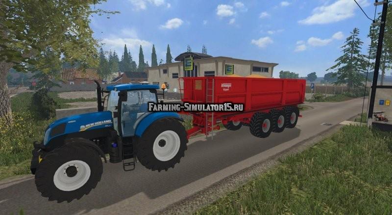 Мод прицеп Krampe BBS 900 v 2.0 Farming Simulator 15
