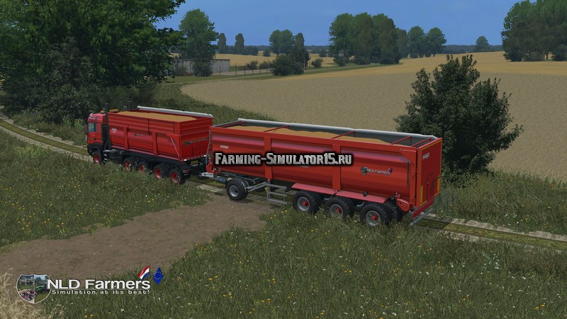 Мод прицеп Krampe SB3060 v 1.1 Farming Simulator 2015