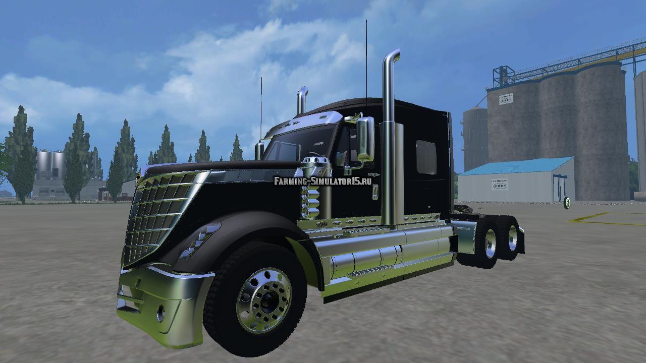 Мод грузовик Lonestar V1.0 Farming Simulator 15