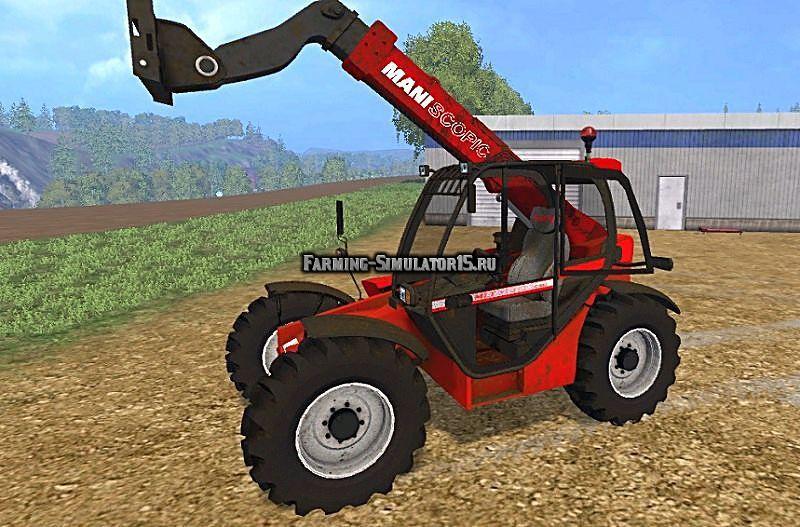Мод погрузчик Manitou MLT 731 v 1.0 Farming Simulator 2015