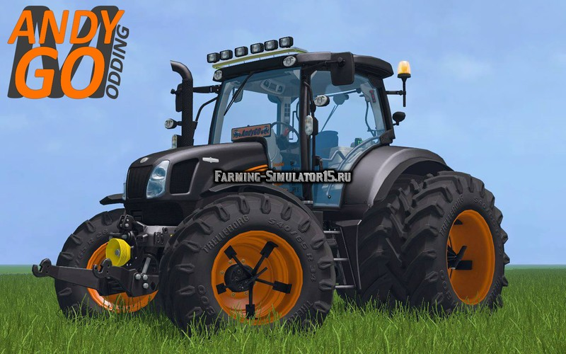 Мод трактор New Holland T6 GoEdition v 1.1 Farming Simulator 15