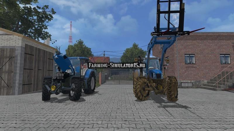 Мод трактор New Holland TD65D Farming Simulator 15