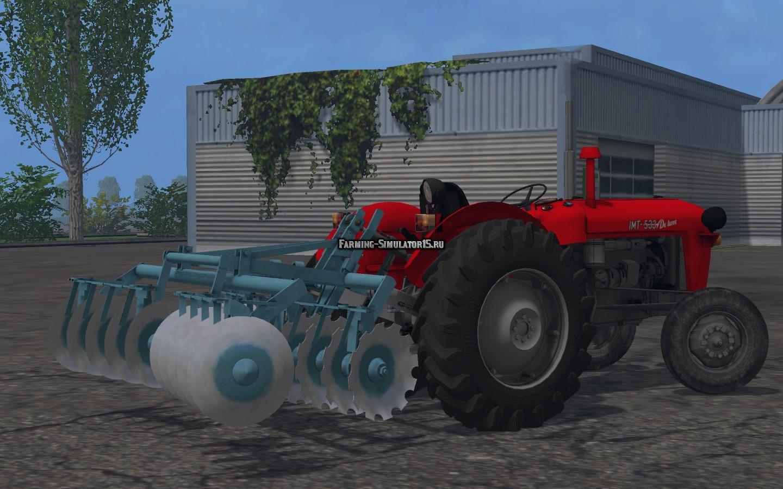 Мод культиватор OLT sava 20 v 1.0 Farming Simulator 15