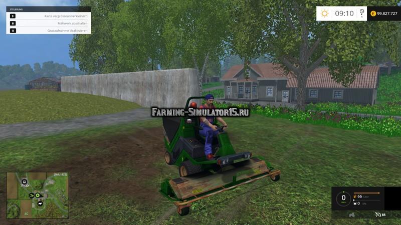 Мод косилка Race Hopper Xtreme v 1.0 Farming Simulator 15