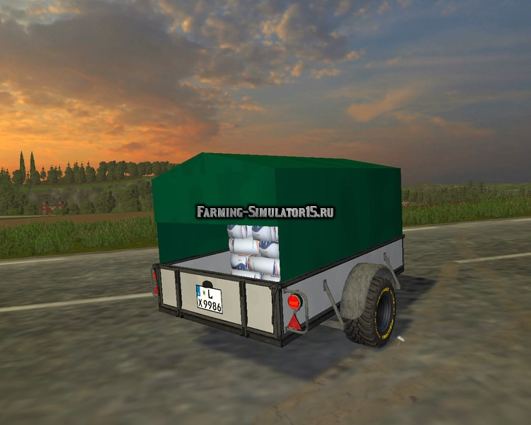 Мод прицеп Small Utilities v1.8 Farming Simulator 2015