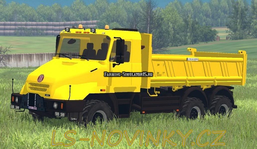 Мод грузовик Tatra Terno Jamal 64 Benne v1.0 Farming Simulator 15