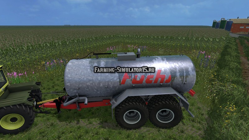 Мод бочка Fuchs 18500l v 1.0 New Textures Farming Simulator 2015
