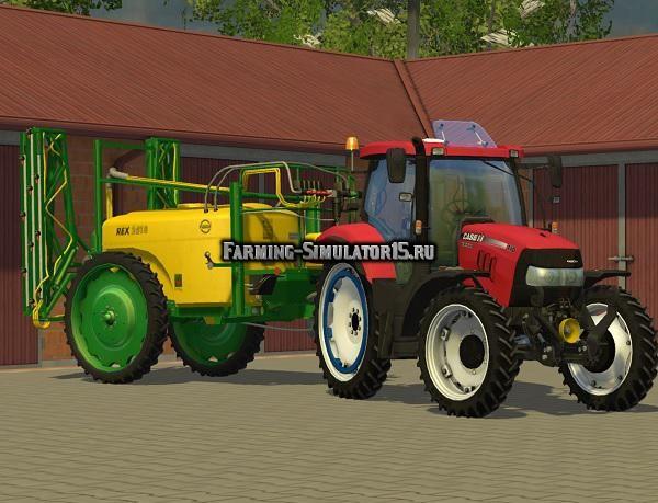Мод опрыскиватель Unia Pilmet Rex 2518 v 1.1 Farming Simulator 15