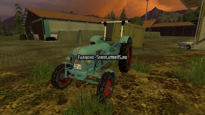 Мод трактор Eicher EM300 v 1.0 Farming Simulator 15
