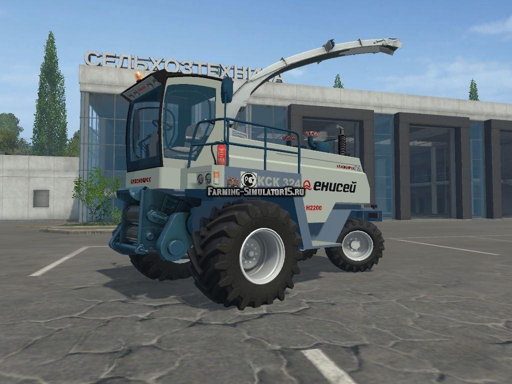 Мод комбайн Енисей 324 Beta Фермер Симулятор 2015