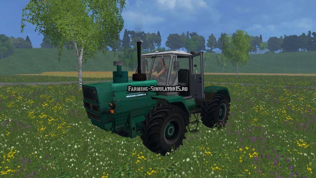 Мод трактор ХТЗ Т-150 Гена final Фарминг Симулятор 2015