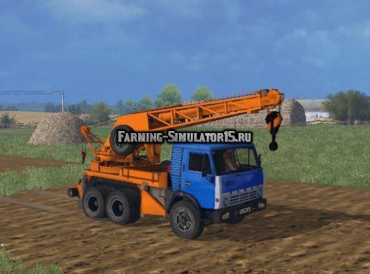 скачать мод кран для Farming Simulator 2017 - фото 10