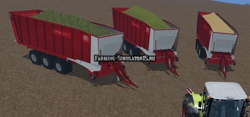 Мод прицеп Lely Tigo XR100D v 3.0 Farming Simulator 2015