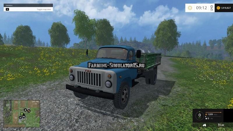 Мод грузовик ГАЗ 53 Фермер Симулятор 2015