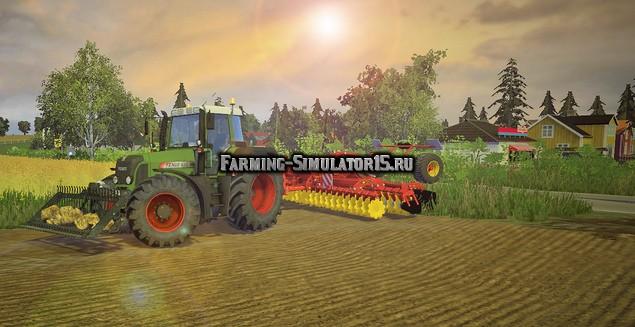 Мод культиватор Vaderstad Carrier XL 525 v 1.0 Farming Simulator 15