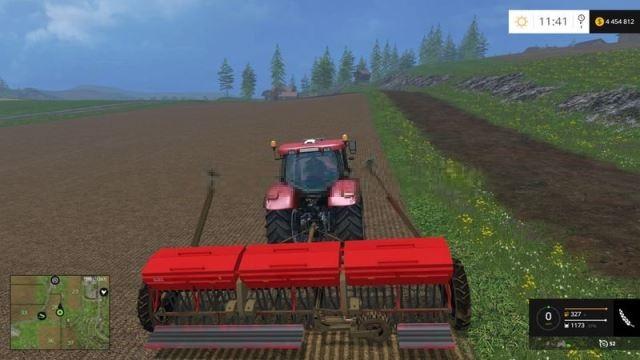 Мод сеялка SZT 5.4 v 1.0 Farming Simulator 2015