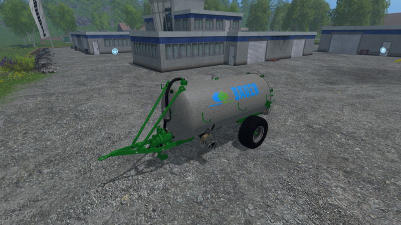 Мод бочка Bauer VB 50 Güllefass v 2.0 Farming Simulator 2015