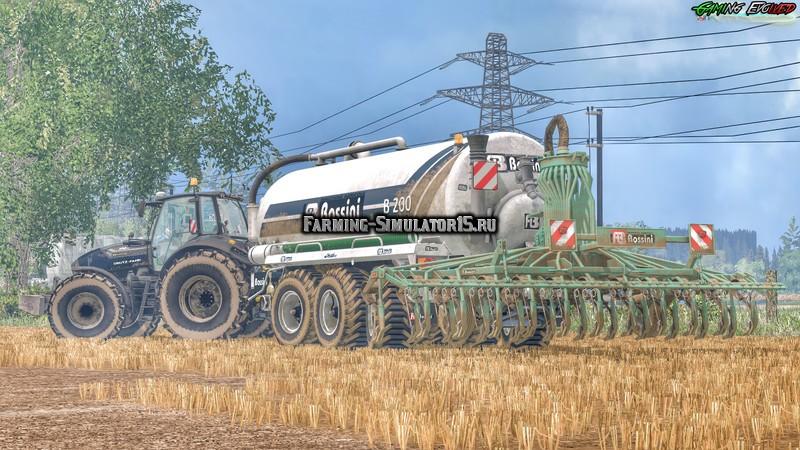 Мод бочка BOSSINI B200 V3.0 Farming Simulator 2015