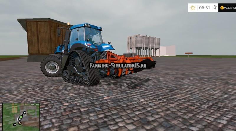 Мод культиватор Chisel Subsolador Armazon Los antonios v 1.0 Farming Simulator 15