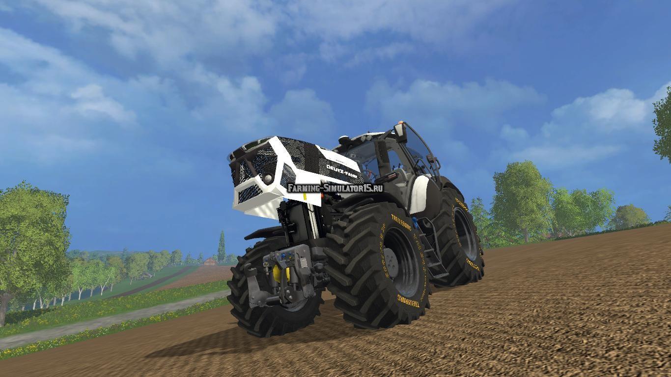 Мод трактор Deutz Fahr 9340 v 2.0 Pearl Edition Farming Simulator 2015