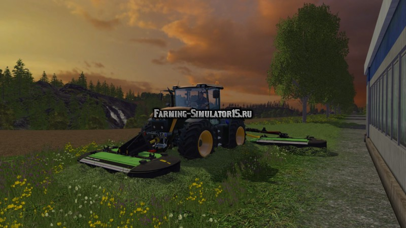 Мод косилка Deutz Drum Master Package v 2.0 Farming Simulator 2015