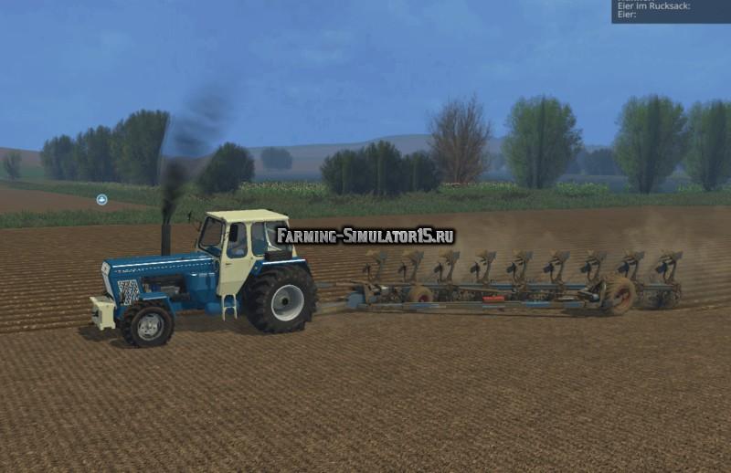 Мод трактор Fortschritt ZT 403 v 2.0 Farming Simualtor 15