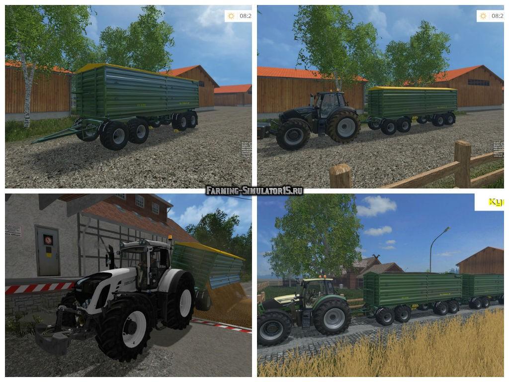 Мод прицеп Fuhrmann FF 32.0000 v 3.0 Farming Simulator 15