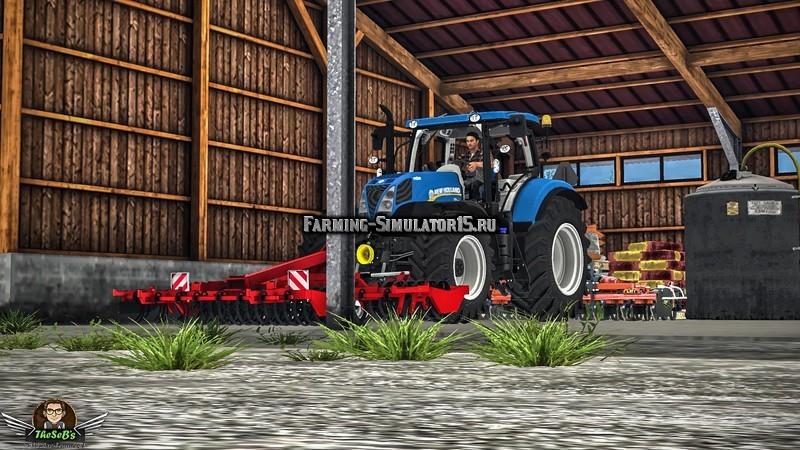 Мод культиватор Gregoire Besson Planidisk v 1.0 Farming Simulator 2015