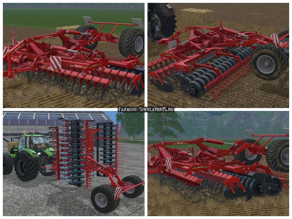 Мод культиватор Horsch Joker 6 RT v 1.0 Farming Simulator 2015
