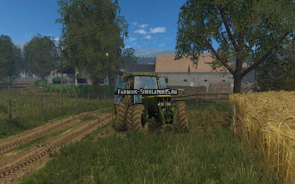 Мод трактор John Deere 6810 v 1.0 Farming Simulator 2015