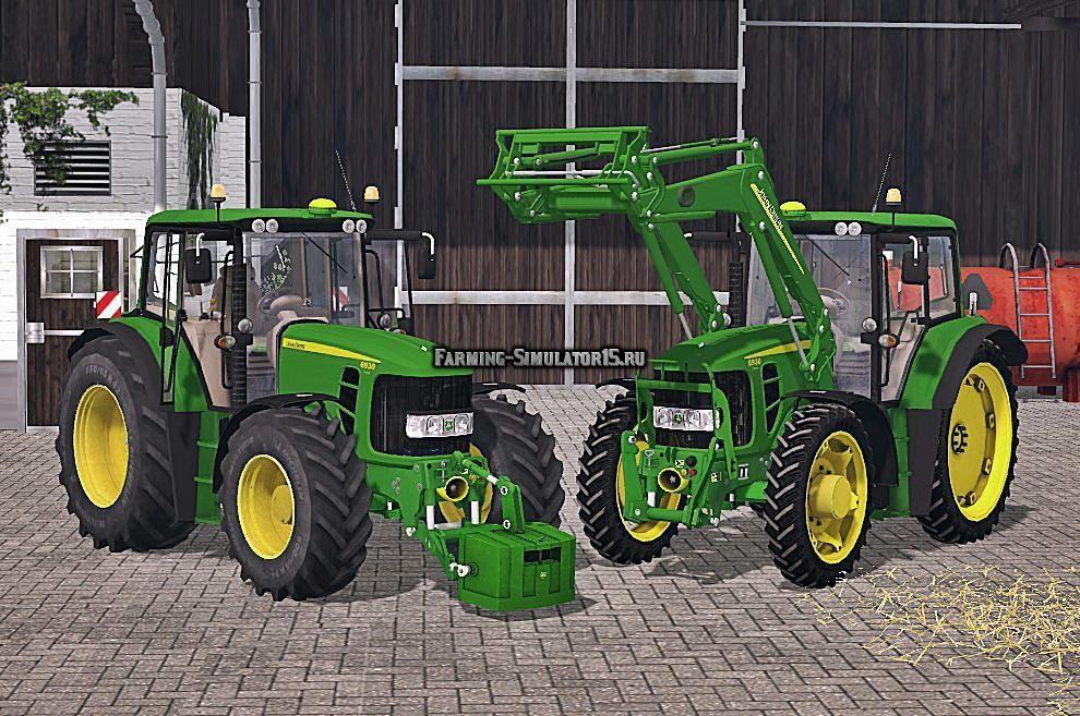 Мод трактор John Deere 6930 Premium FL v 1.0 Farming Simulator 2015