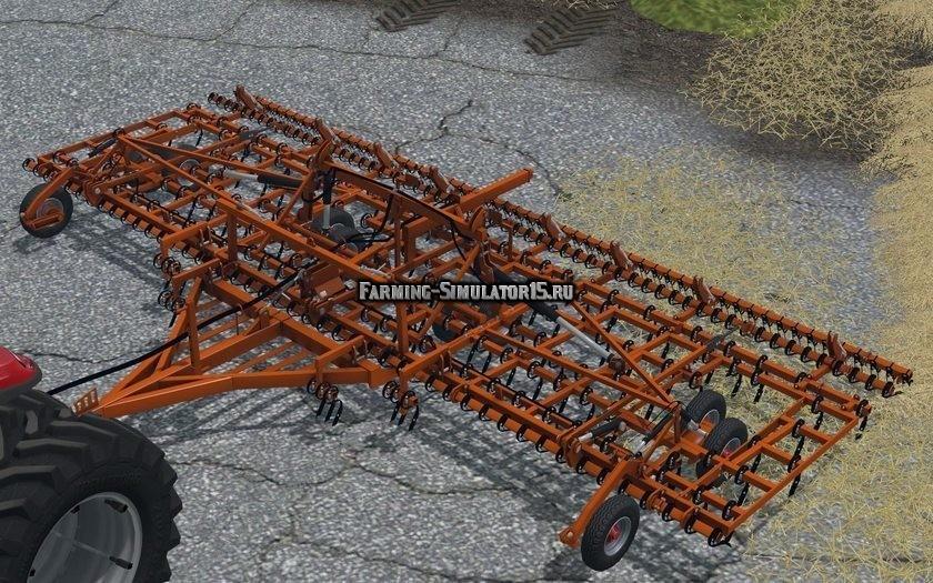 Мод культиватор Laumetris trailed cultivator KLL-10T v 1.0 Farming Simulator 2015