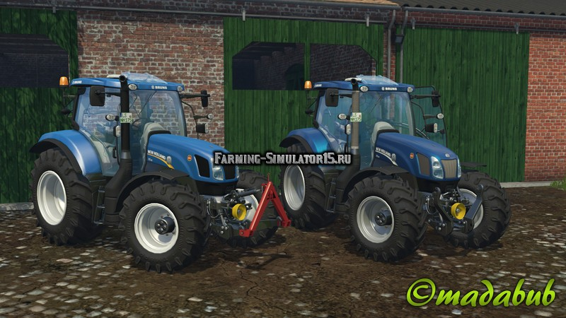 Мод трактора New Holland T6.175 v 1.2.2 Farming Simulator 15