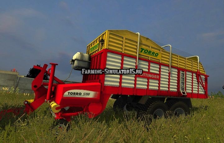 Мод прицеп Pottinger Torro 5700 v 1.0 Farming Simulator 2015