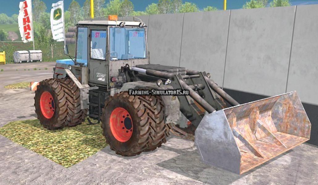 Мод погрузчик Skoda 180 v 1.0 Farming Simulator 2015