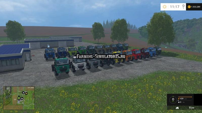Мод грузовик Tatra Phoenix 4×4 tractor Agra V Sattelzugmaschine Farming Simulator 15